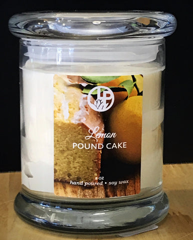 Lemon Pound Cake Handmade Soy Wax Candle