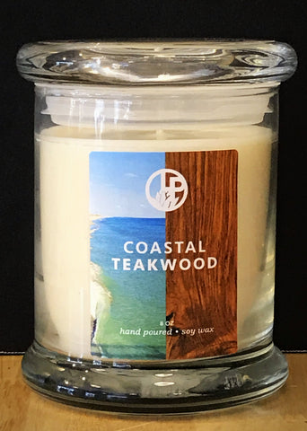 Coastal Teakwood Handmade Soy Candles