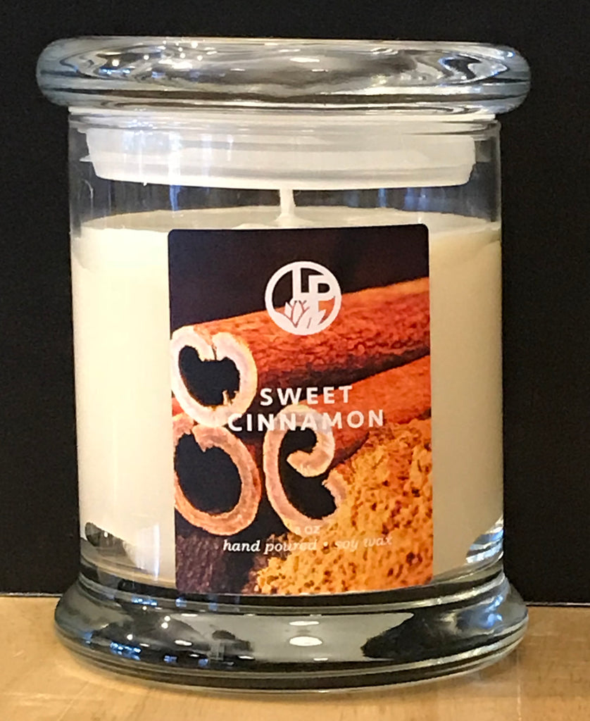 Sweet Cinnamon Handmade Soy Wax Candle
