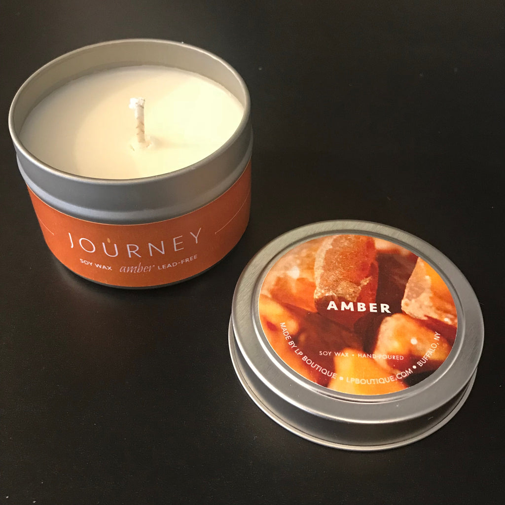 4 oz Amber Journey Travel Candles