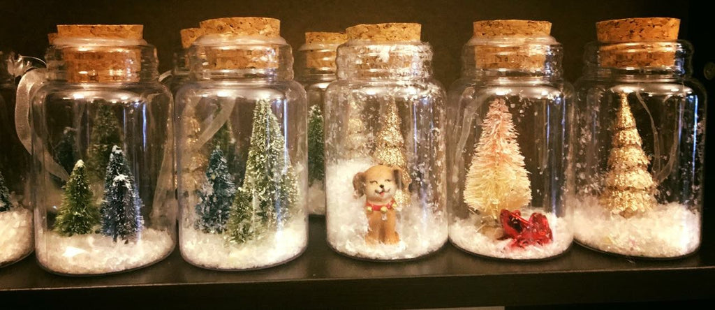 Handmade Snow Globe Ornaments
