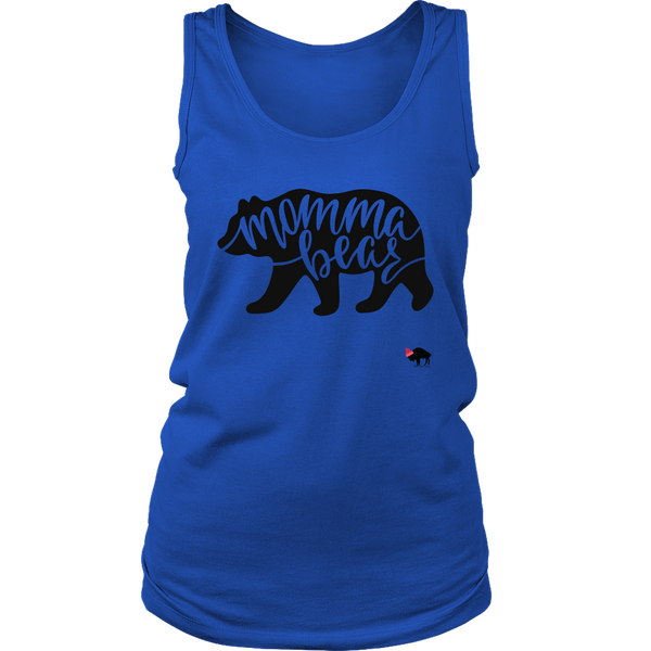 Momma Bear Womens Tank Top