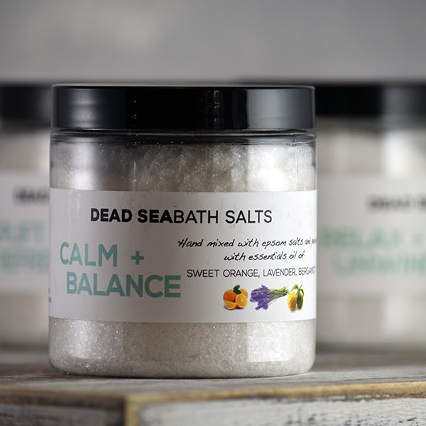All-Natural Dead Sea Salt Bath Salts