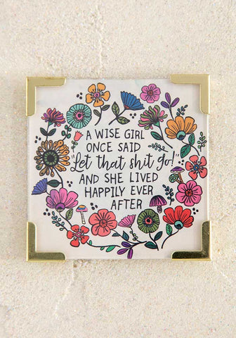 Wise Girl Corner Magnet