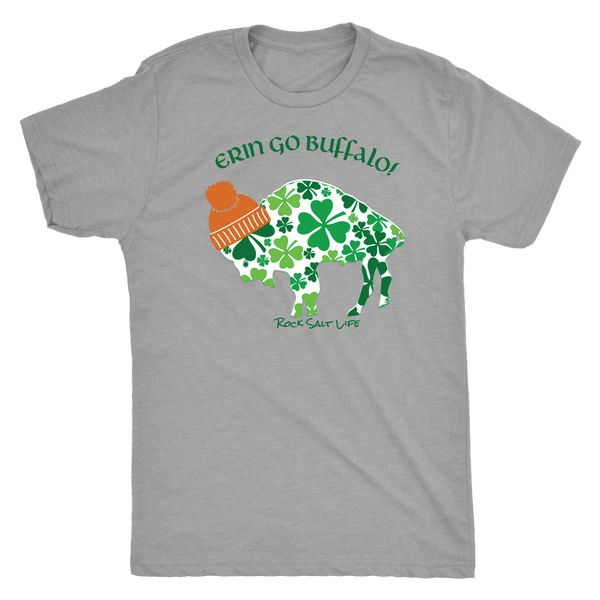 Erin Go Buffalo Rock Salt Life St. Patricks Day T-Shirt