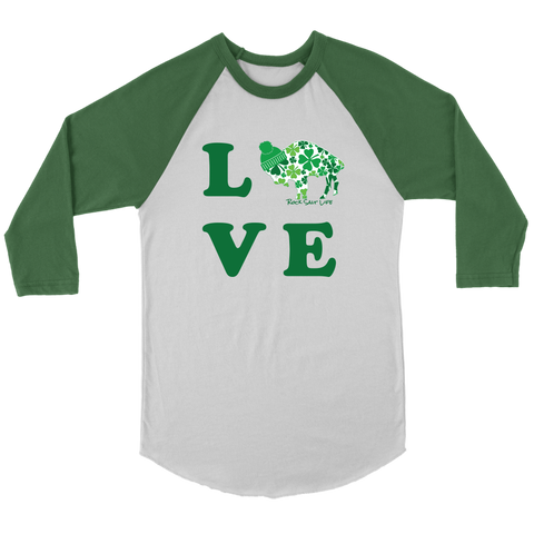 Lucky in BuffaLOVE 3/4 Sleeve Shirt