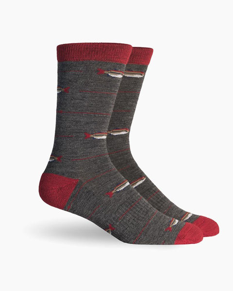 Angler Hiking Outdoor Crew Sock