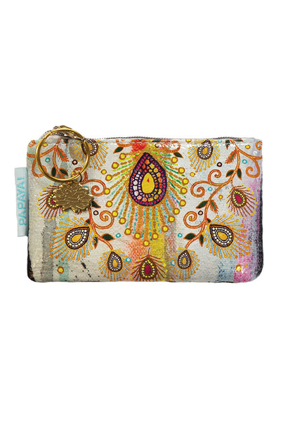 Moroccan Peacock Coin Purse