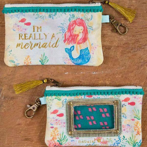 I'm Really a Mermaid ID Pouch and Coin Purse