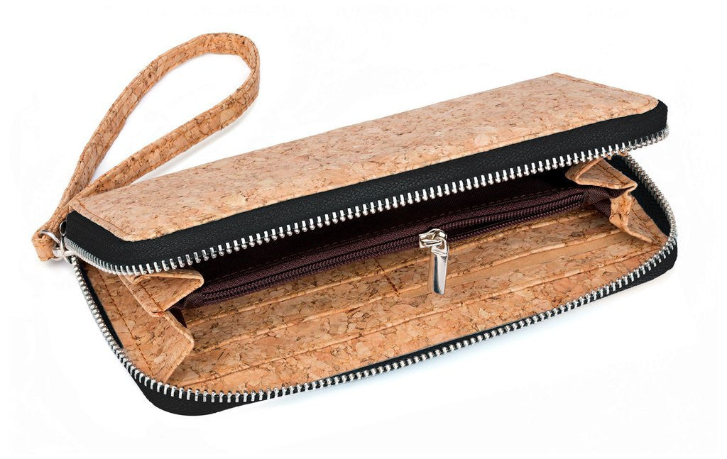 Black Cork Clutch