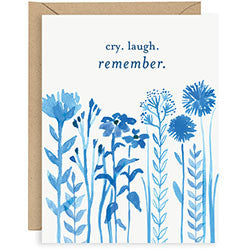 Sympathy Botanical Card