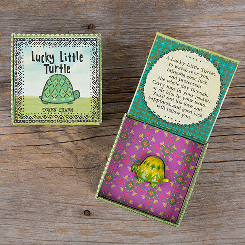 Lucky Turtle Charm Box