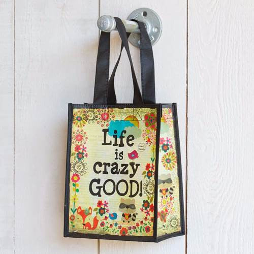 life is crazy gift bag