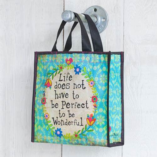 life does not have to be perfect gift bag