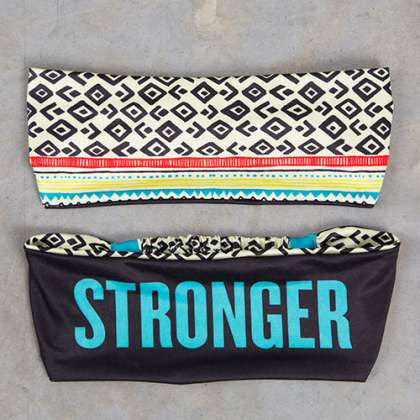 Sweat Happy Band Stronger
