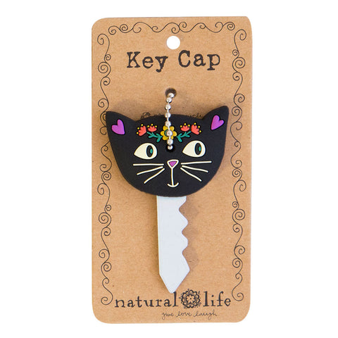 black cat key cap