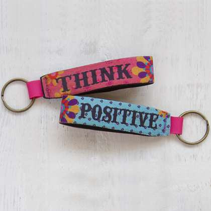 Key Fob Think Positive