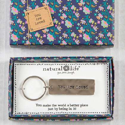 Boxed Keychain You Are Loved