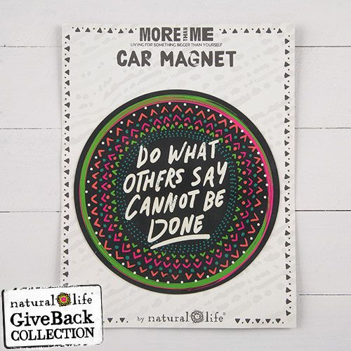 Do what Others Say You Can't Circle Car Magnet