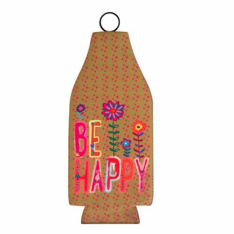 be happy bottle cozy
