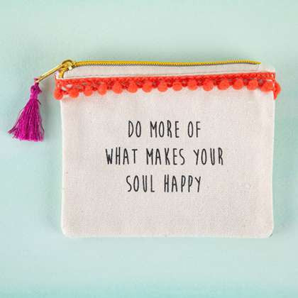 Tassel Pouch Soul Happy