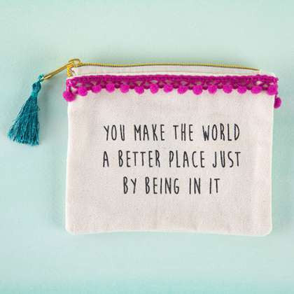 Tassel Pouch World Better Place