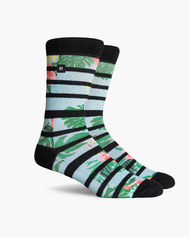 Hibiscus California Collection Everyday Crew Sock