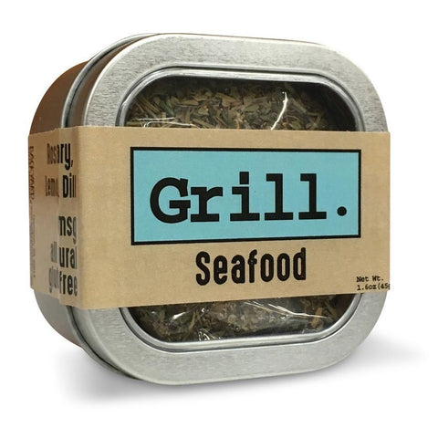 Rosemary, Lemon, Dill Seafood Grilling Herbs Tin