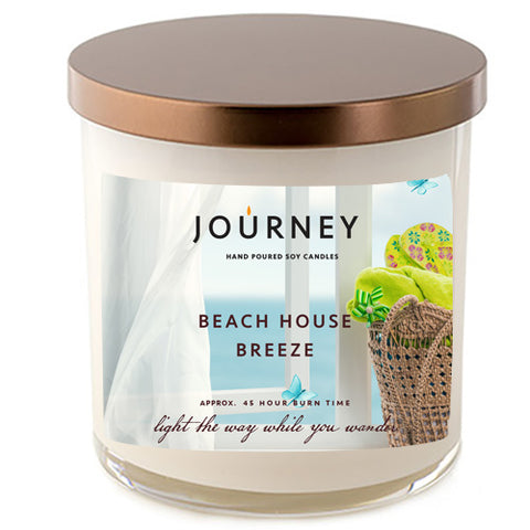 Beach House Breeze Handmade Soy Wax Candle