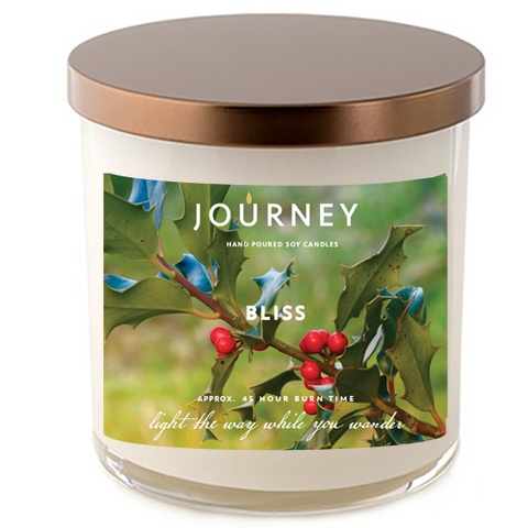 Bliss Journey Handmade Soy Wax Candle