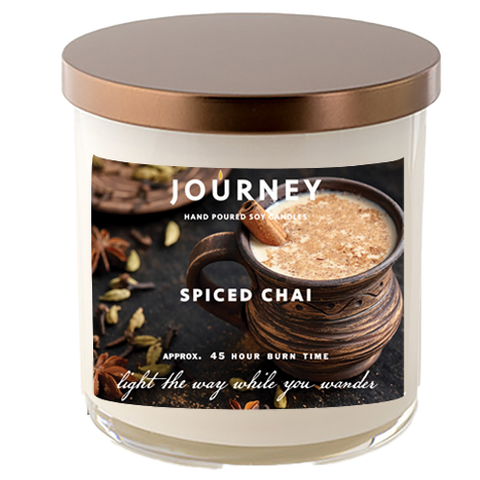 Spiced Chai Journey Soy Wax Candle