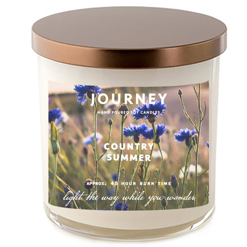 Country Summer Journey Soy Wax Candle
