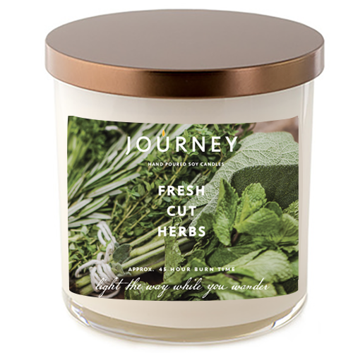 Journey Fresh Cut Herbs Soy Wax Candle