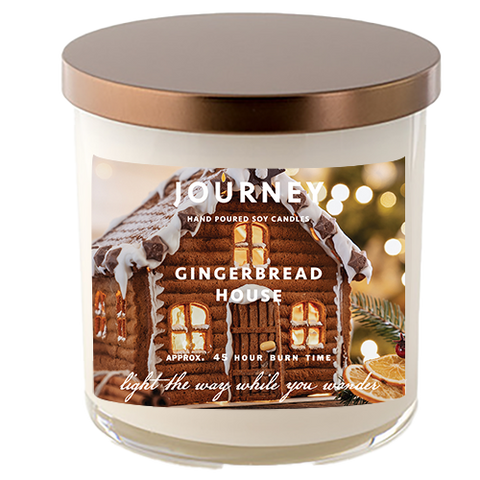 Gingerbread House Journey Soy Wax Candle