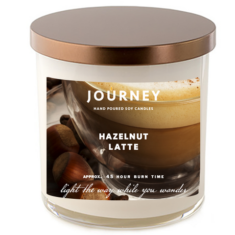 Hazelnut Latte Journey Soy Wax Candle