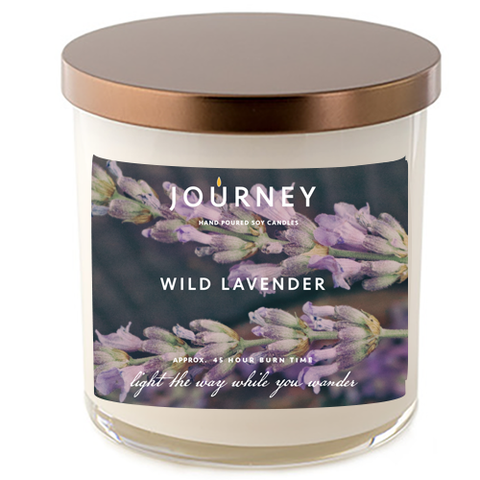 Journey Wild Lavender Soy Wax Candle