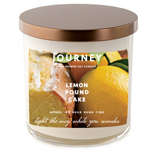Journey Lemon Pound Cake Soy Wax Candle