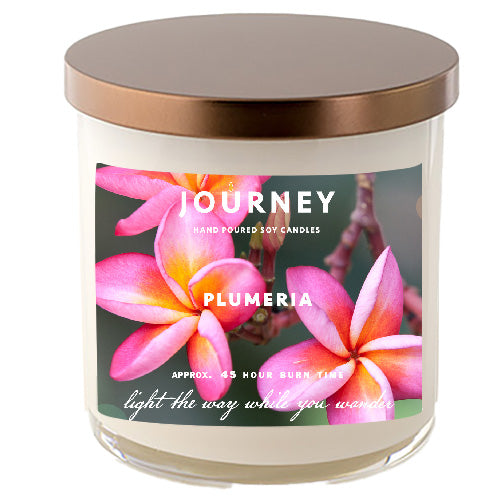 Plumeria Journey Soy Wax Candle