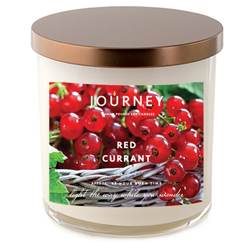 Journey Red Currant Handmade Soy Wax Candle
