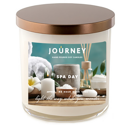 Spa Day Journey Soy Wax Candle