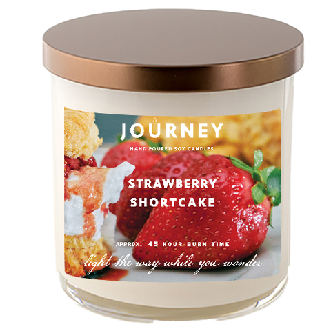 Strawberry Shortcake Journey Soy Wax Candle