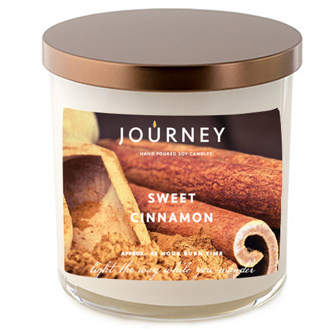 Sweet Cinnamon Journey Soy Wax Candle