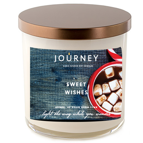 Sweet Wishes Journey Handmade Soy Wax Candle