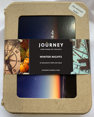 Winter Nights Soy Tealights