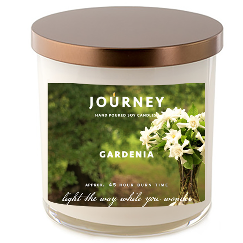 Gardenia Journey Soy Wax Candle