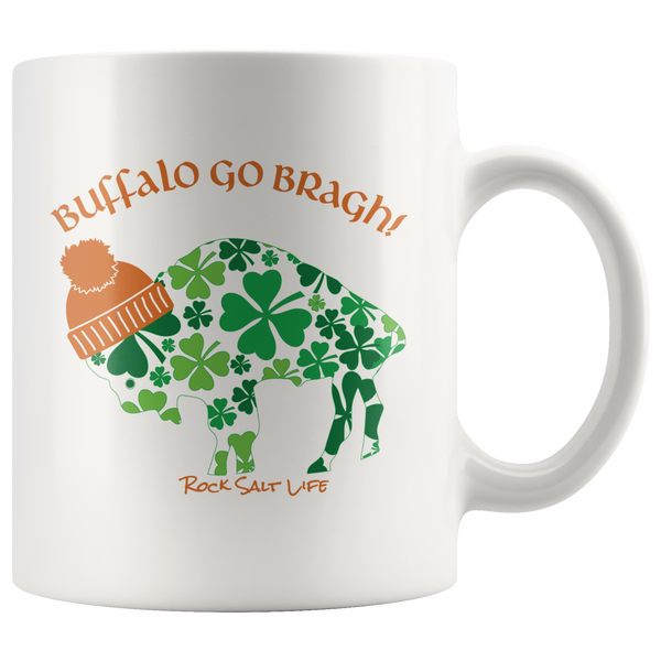 Lucky in BuffaLOVE Rock Salt Life Mugs-FREE SHIPPING