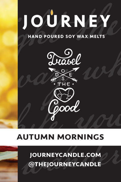 Autumn Mornings Journey Soy Wax Melts
