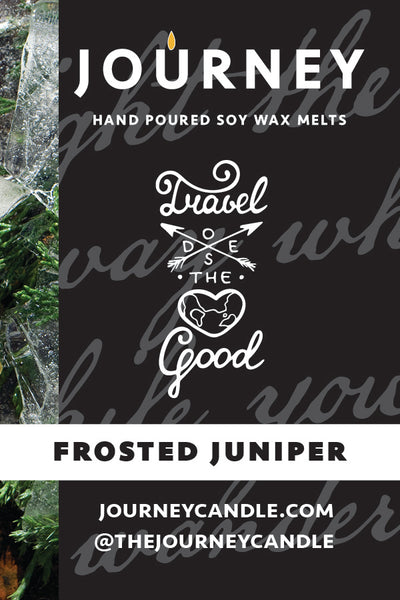 Frosted Juniper Journey Soy Wax Candle