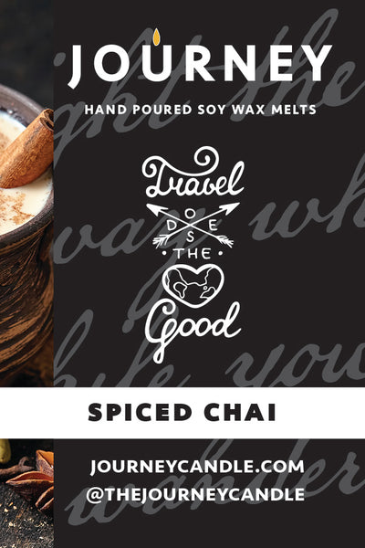 Spiced Chai Journey Soy Wax Melts