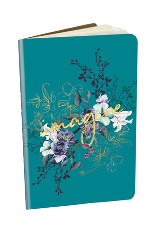 Imagine Jewel Flower Mini Notebook